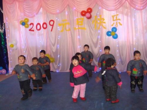 河北邢台沙河阳光幼儿园迎新年系列活动